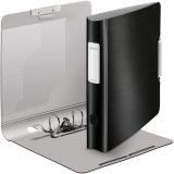 Biblioraft 180° Active Style, polyfoam, A4, 50 mm, negru satin, Leitz