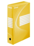 Cutie de arhivare 80 mm Boxy Esselte galben