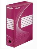 Cutie de arhivare 100 mm Boxy Esselte rosu