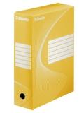 Cutie de arhivare 100 mm Boxy Esselte galben