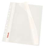 Dosar cu multiperforatii PP, A4, 10 buc/set, VIVIDA alb, Esselte