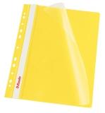 Dosar cu multiperforatii PP, A4, 10 buc/set, VIVIDA galben, Esselte