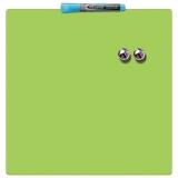 Tabla magnetica patrata 36 x 36 cm verde Nobo