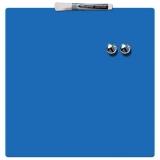 Tabla  magnetica patrata 36 x 36 cm albastru Nobo