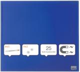 Tabla Diamond magnetica din sticla albastru 45 x 45 cm Nobo