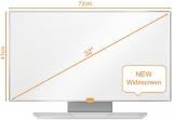 Tabla magnetica emailata format widescreen 71 x 40 cm Nobo
