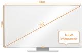Tabla magnetica emailata Prestige Widescreen 55 inch Nobo