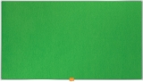 Panou Widescreen 40 inch din material textil verde Nobo