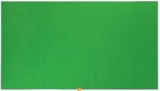 Panou Widescreen 85 inch din material textil verde Nobo