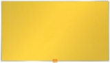 Panou Widescreen 40 inch din material textil galben Nobo