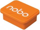 Magneti pentru table, portocaliu, 4 buc/set Nobo