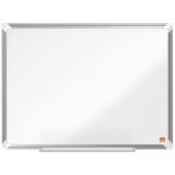 Tabla alba magnetica, otel emailat, 60 x 45 cm, Premium Plus Nobo