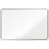 Tabla alba magnetica, otel emailat, 90 x 60 cm, Premium Plus Nobo