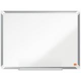 Tabla alba magnetica, otel lacuit, 60 x 45 cm, Premium Plus Nobo