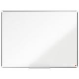 Tabla alba magnetica, otel lacuit, 120 x 90 cm, Premium Plus Nobo