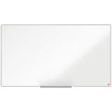 Tabla alba magnetica, otel lacuit, 122 x 69 cm, Nano Clean, Impression Pro Widescreen Nobo