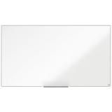 Tabla alba magnetica, otel lacuit, 155 x 87 cm, Nano Clean, Impression Pro Widescreen Nobo