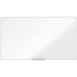 Tabla alba magnetica, otel lacuit, 188 x 106 cm, Nano Clean, Impression Pro Widescreen Nobo