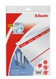 Etichete de carton printabile pentru biblioraft 75 mm, 50 buc/set, Esselte