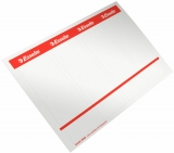 Etichete printabile autoadezive 75 mm, 40 etichete/set Esselte