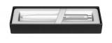Pix Sentinel White & Brush Chrome NT Sheaffer