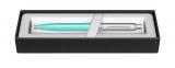 Pix Sentinel Turquoise & Brush Chrome NT Sheaffer