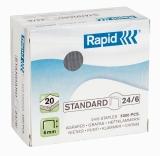 Capse standard 24/6 5000 bucati/cutie Rapid