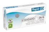 Capse standard 26/6 5000 bucati/cutie Rapid
