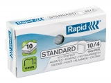 Capse standard 10/4 1000 bucati/cutie Rapid