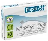 Capse Standard 23/10 1000 bucati/cutie Rapid