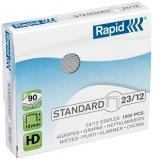 Capse standard 23/12 1000 bucati/cutie Rapid