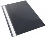 Dosar A4 cu sina Standard, negru, 5 buc/set Esselte