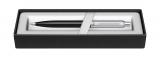 Creion mecanic 0.7 mm Black & Brush Chrome NT Sheaffer