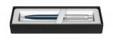 Creion mecanic 0.7 mm Blue & Brush Chrome NT Sheaffer