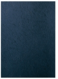 Coperti carton A4 100/set pentru indosariere Leitz 250 g/mp, mat, negru