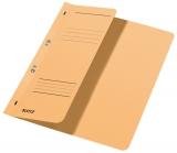 Dosar carton color, cu capse, coperta 1/2 Leitz kraft