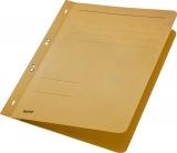 Dosar carton color, cu capse, coperta 1/1 Leitz kraft