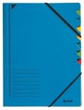 Mapa A4 Fashion din carton cu 7 separatoare Leitz