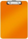Clipboard A4 simplu 75 coli WOW Leitz portocaliu metlizat