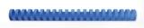 Spira plastic 21 inele 16 mm A4 albastru 145 coli 100 buc/set GBC