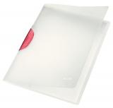 Dosar cu clip, A4, PP, Color Clip Magic Leitz rosu