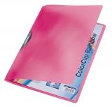 Dosar plastic A4 cu clip Color Clip Rainbow Leitz rosu