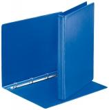 Caiet mecanic Panorama, PP/PP, A4, mecanism 4RR, inel 16mm, albastru, Esselte