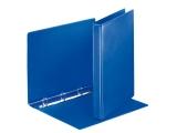 Caiet mecanic Panorama PP/PP, A4, mecanism 4DR, inel 20 mm, albastru, Esselte