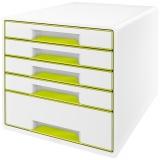 Cabinet cu 5 sertare WOW Leitz verde metalizat