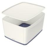 Cutie pentru depozitare MyBox Mare cu capac Leitz