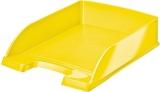 Tavita A4 pentru documente WOW Leitz galben metalizat