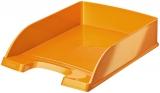 Tavita pentru documente WOW Leitz portocaliu metalizat