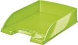 Tavita A4 pentru documente WOW Leitz verde metalizat