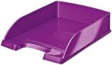 Tavita A4 pentru documente WOW Leitz mov metalizat